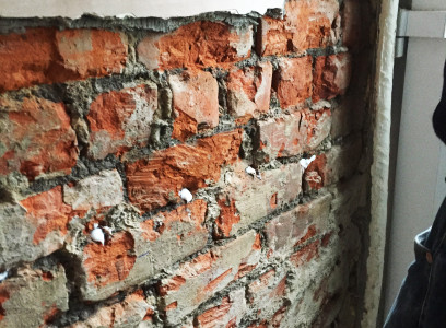 Example of Rising Dampness